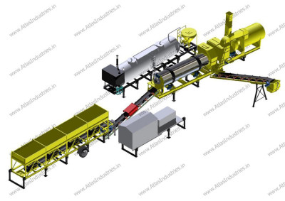 Advantages of mobile asphalt plant
