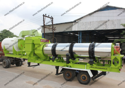 40-60 tph mobile asphalt plant for Philippines