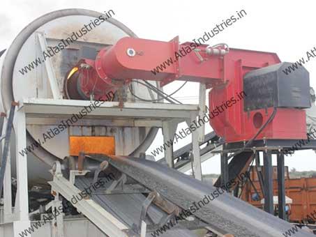 Dryer burner of asphalt plant