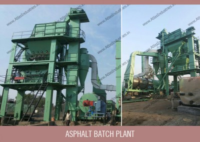 Asphalt batch plant process