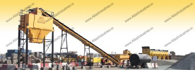 Maintenance free soil stabilization plant for road projects