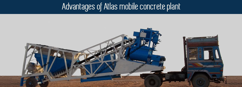 advantages mobile concrete mixer