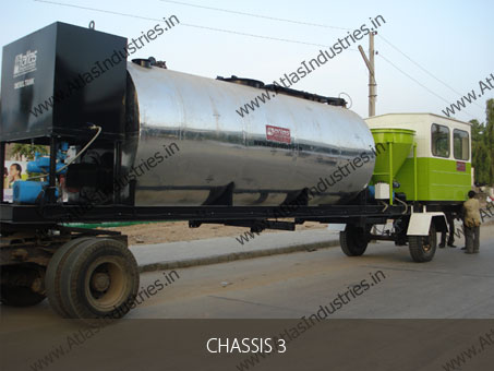 mobile bitumen tank of asphalt mixing equipment
