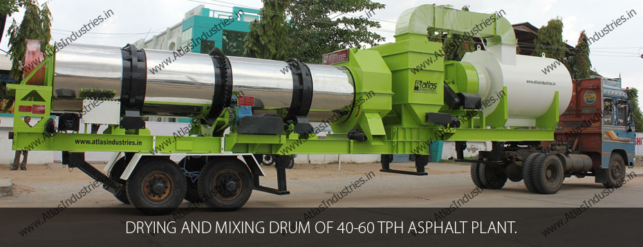 dryer asphalt plant