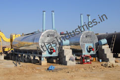 bitumen storage and transfer tanks