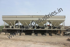 Cold aggregate feeder of drum mix plant