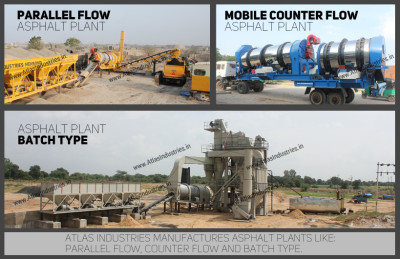 Asphalt batch plant vs drum plant