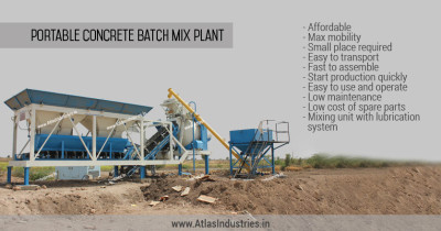 Role of reversible drum in ready mix concrete plants.