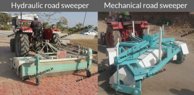 Importance of road cleaning equipment