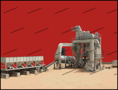 Asphalt batch mix plant 80 tph, 120 tph and 160 tph