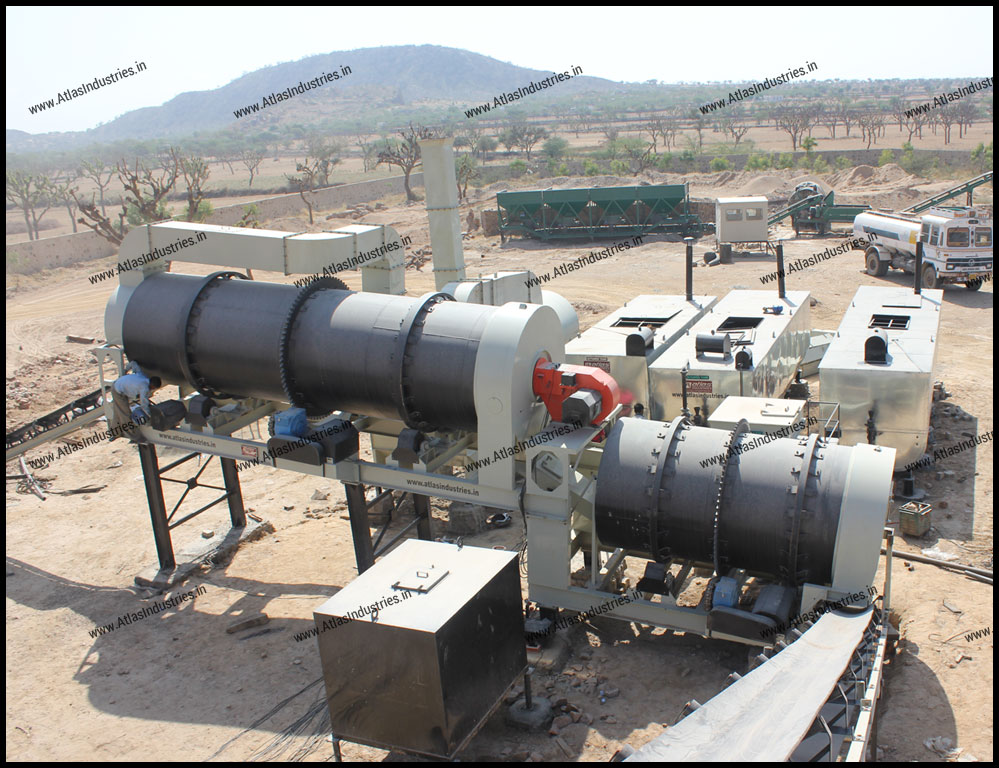Counterflow asphalt mixing plant for sale