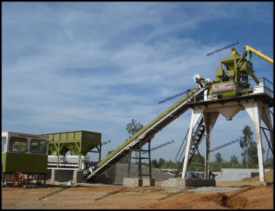 The characteristics of concrete batching plant