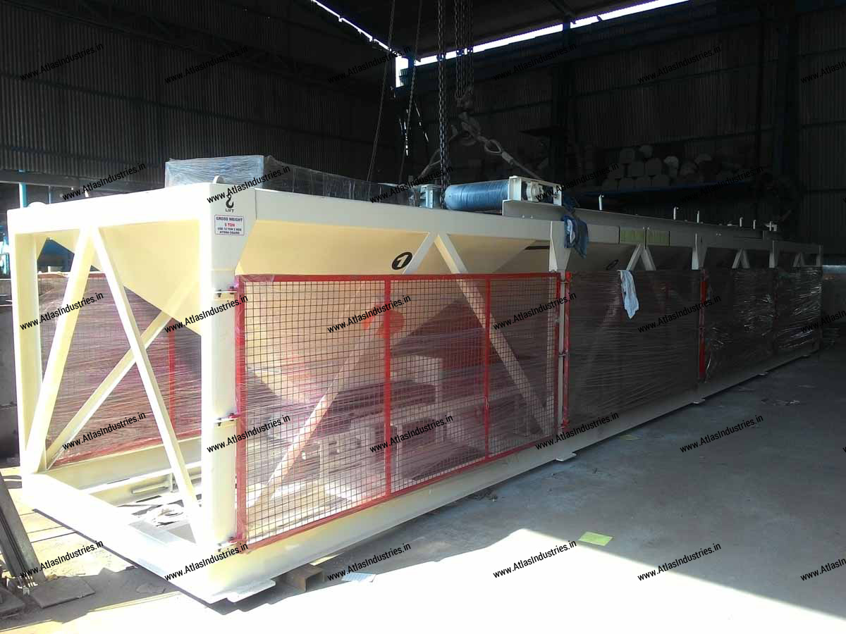 cold aggregate feeder asphalt plant Spain