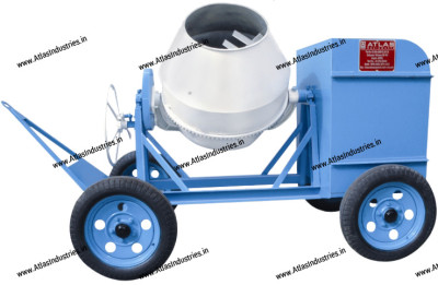 Classification of drum type concrete mixers