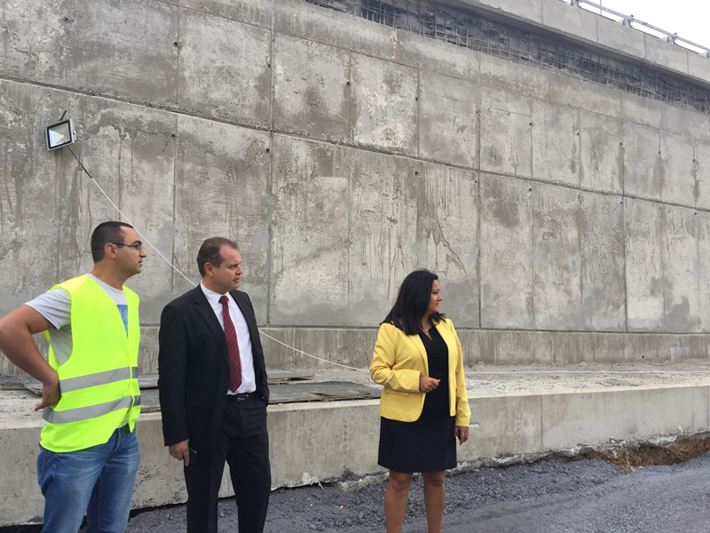 Bulgaria development minister makes surprising inspection on construction of part of Sofia Ring Road news