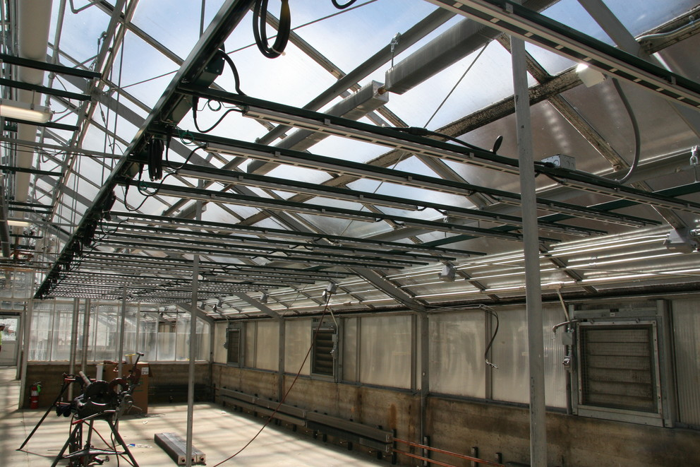 greenhouse renovations to the infrastructure of greenhouses
