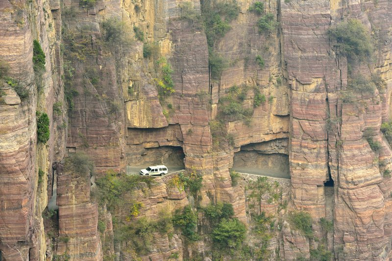 guoliang-tunnel-road-china