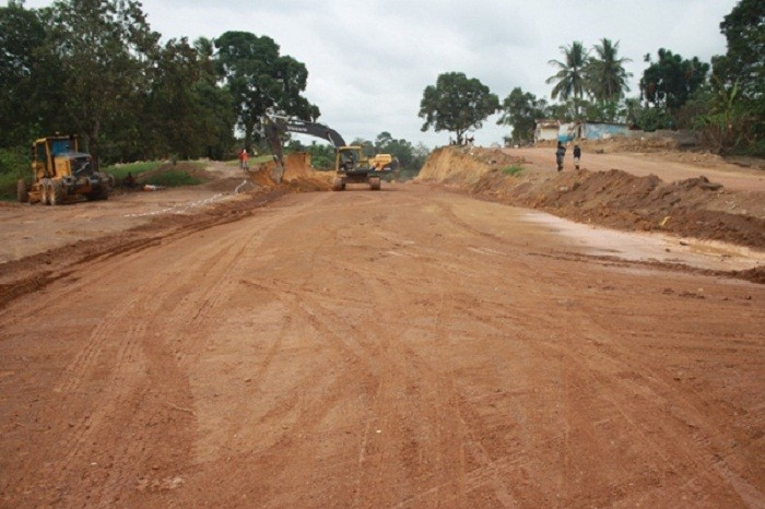 Kuwait to help in the construction of the Gbarnga-Mendikorma Road in Liberia