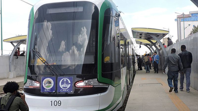 sub saharan africa's first light rail system starts operations in Ethiopia : Africa news