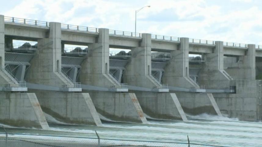 Gardiner dam Canada