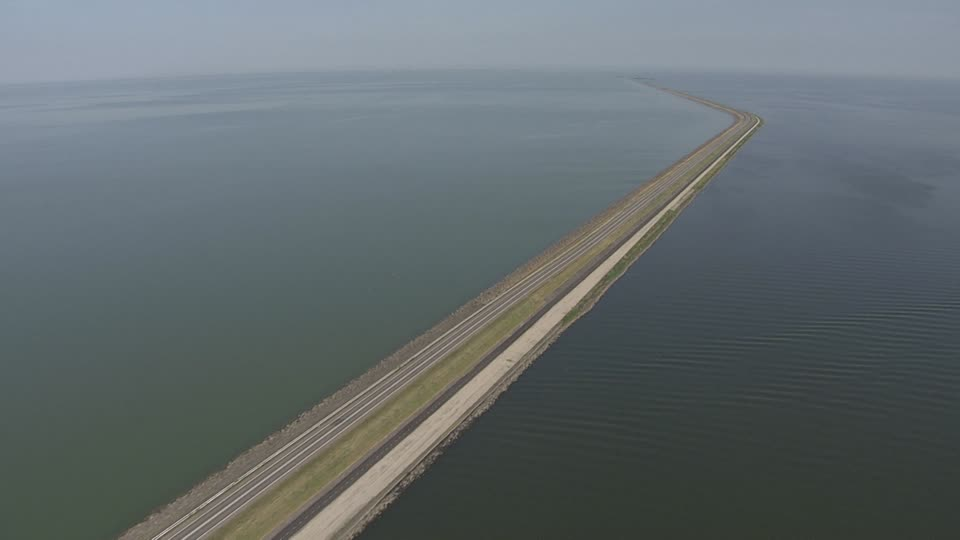 Houtribdijk dam Netherlands