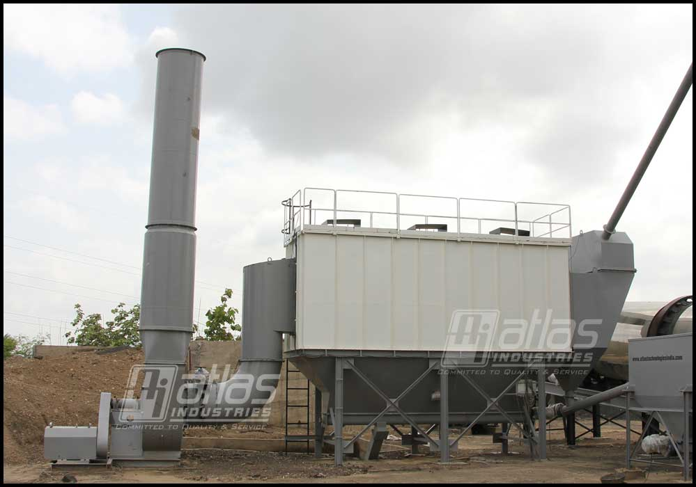 Bag filter Atlas asphalt batching plant