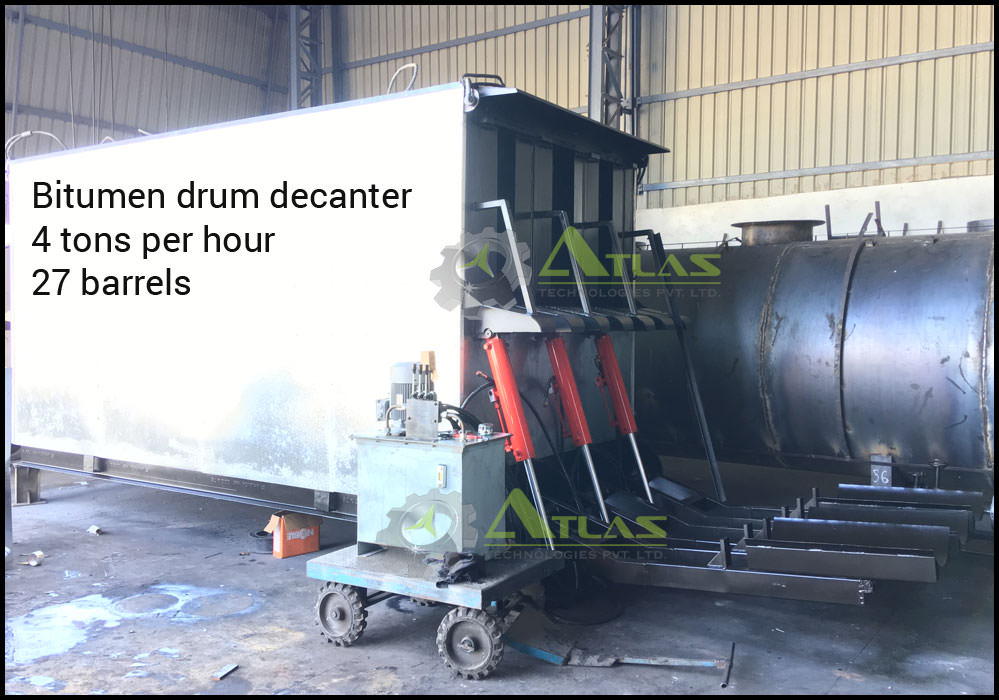 bitumen decanter