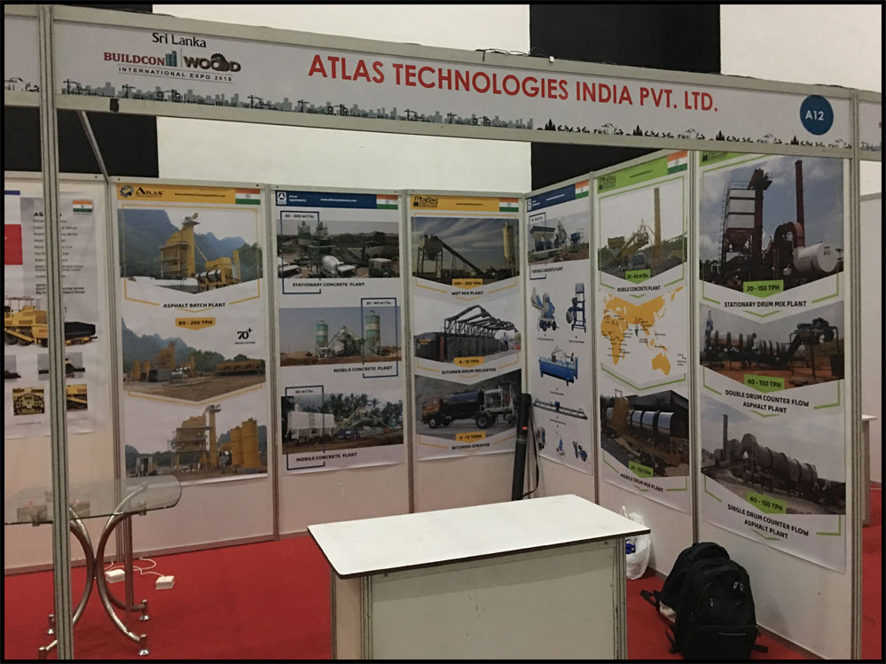 Exhibition Stall Builders In Sri Lanka : Atlas in sri lanka buildcon exhibition civil