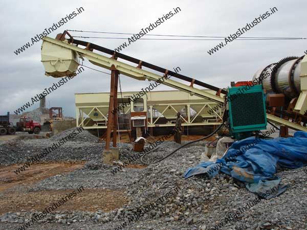 hot mix asphalt plant equipment