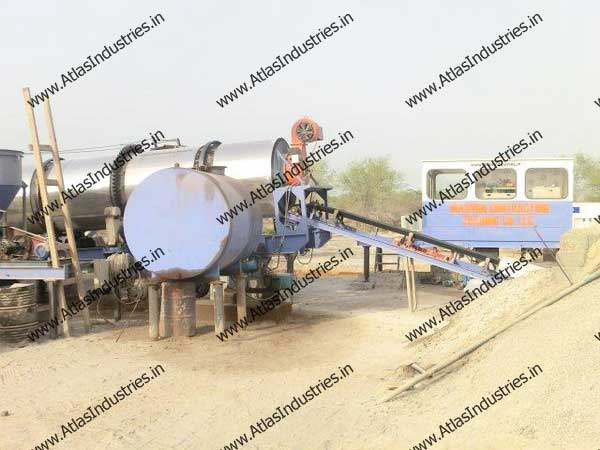 continuous asphalt plant for sale in India