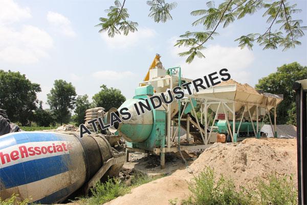 Portable concrete plant Near Mehsana