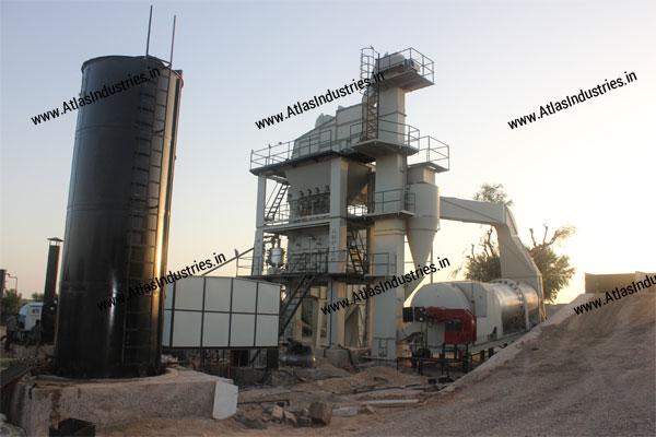 asphalt batching plant exporters India