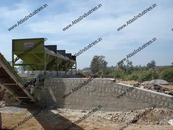 concrete portable batch plant