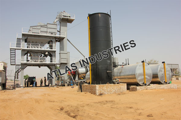 asphalt mixing plant installed in Jaipur India