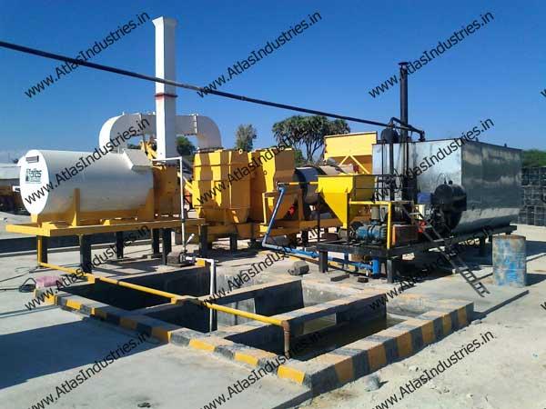 portable asphalt mix plant manufacturer India