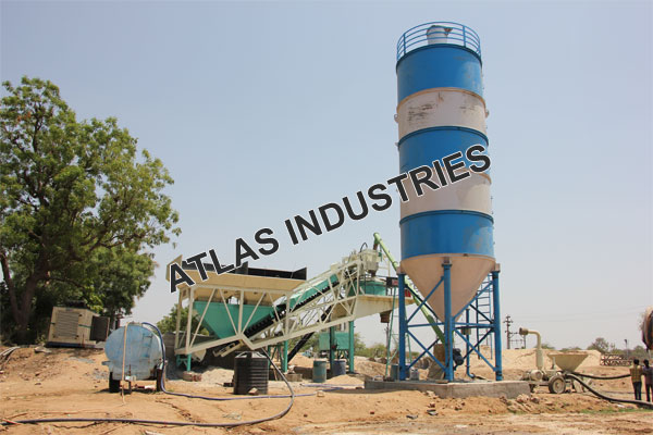 Price mobile concrete mix plant in Chaapi, India