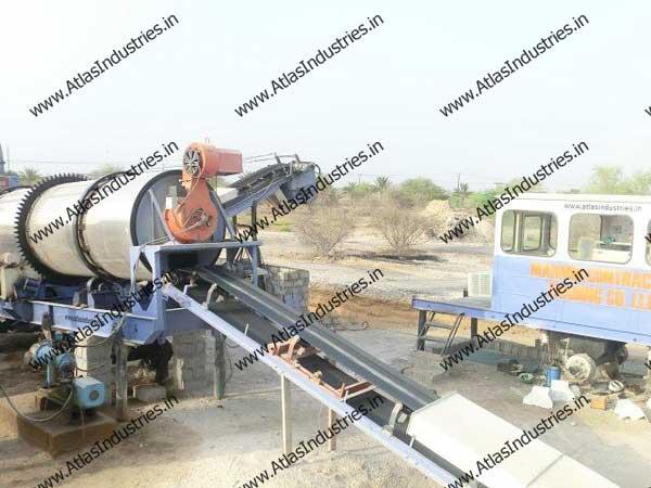continuous asphalt plant manufacturer