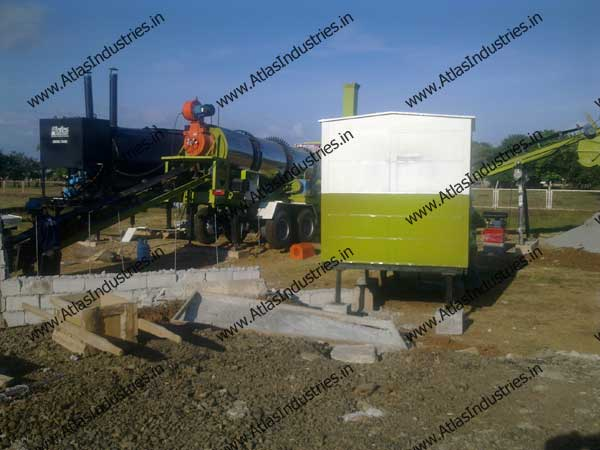 hot mix asphalt plants supplier India