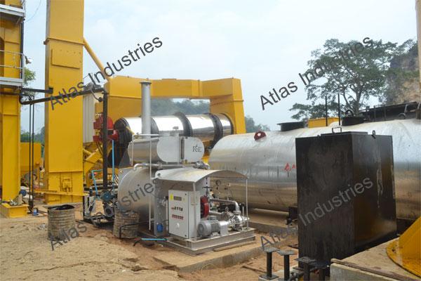 For sale 80 tph asphalt batch plant in Myanmar