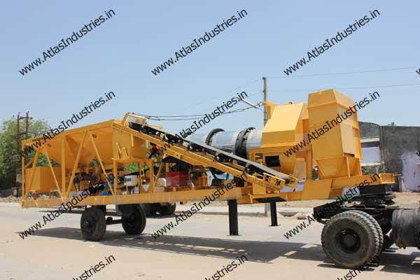 portable drum asphalt plant manufacturer
