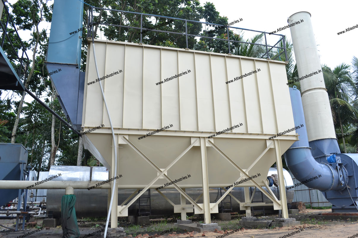 bag filter of asphalt mixing plant