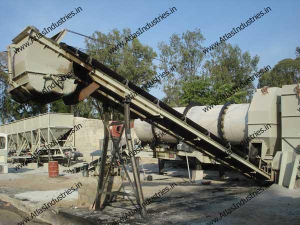 asphalt drum mix plants manufacturer from India
