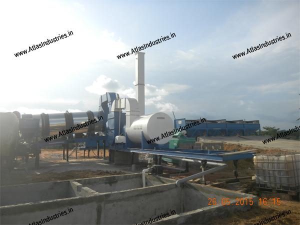 counterflow asphalt mixing plant exporter India