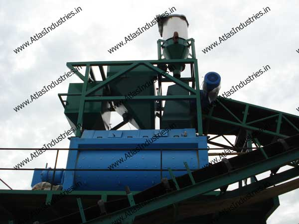 ready mix concrete batch mix plant