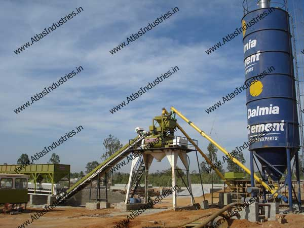 concrete mixing plant India
