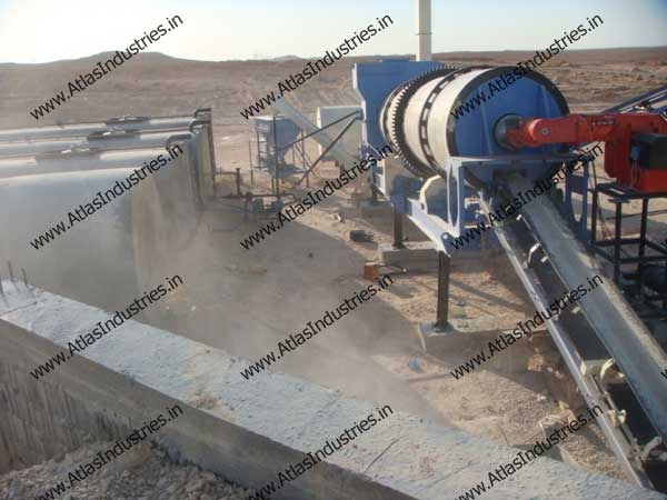 asphalt mixing plants installed in Libya