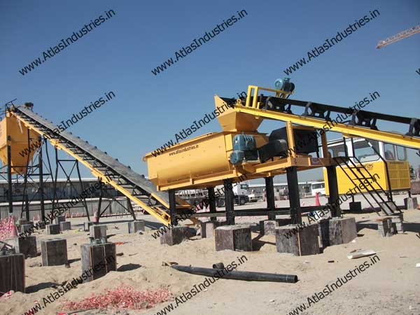 wet mix macadam plant exporter