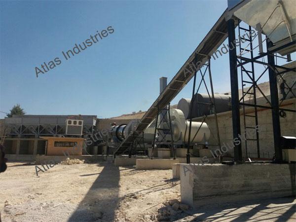 Cost asphalt drum mixer in Lebanon