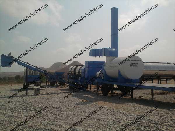 continuous mix asphalt plant for sale
