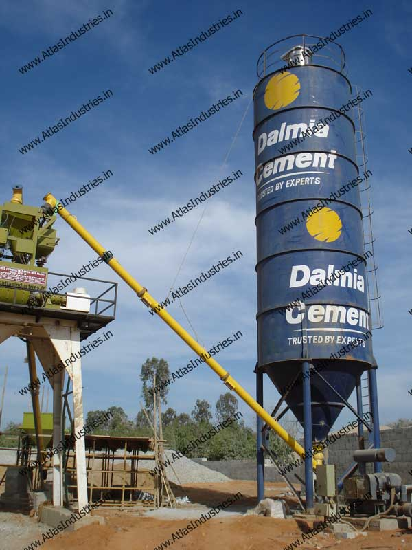 Stationary Concrete Batch Plant In India Concrete Mixer